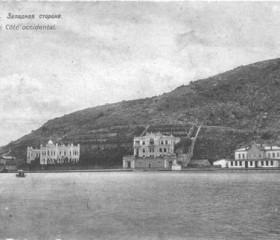 Балаклавская бухта. Западная сторона